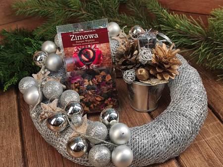 Prezent świąteczny Zestaw Srebrno-Złoty