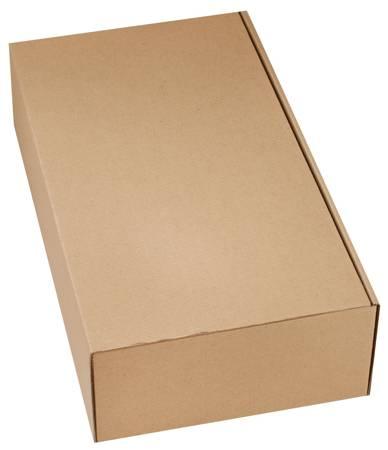 Pudełko prezentowe EKO Kraft 21x37,5x10cm (2x 0,75l) - 10 szt.
