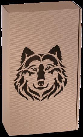 Pudełko prezentowe EKO Kraft 8 36x20x9,5 cm - WILK
