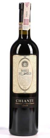 Wino Nobili Del Borgo - Wino czerwone wytrawne 0,75l - Włochy (246)