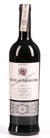 Winon Château Ministre - czerwone wytrawne - 0,75l - Francja (287)