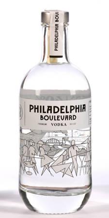 Wódka pszeniczna - Philadelphia Boulevard Vodka - 500ml alk.40% (252)